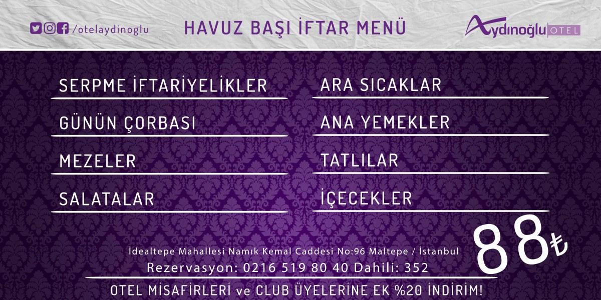 İftarın Adresi Aydınoğlu!
